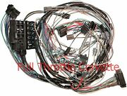 1965 Corvette Wiring Harness Dash Without Back-up Lights Us Reproduction C2 New