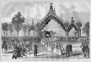 President Abraham Lincoln's Funeral, Chicago Illinois, 1865 Reception Of Remains