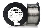 Temco Kanthal A1 Wire 30 Gauge 1 Lb 4142 Ft Resistance Awg A-1 Ga