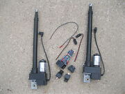 2 Two Heavy Duty 10 Inch Linear Actuator And Wiring Switch Kit 225lb 12 Volt Dc