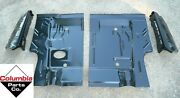 Trunk Floor And Drop Off Extension Kit Challenger E-body 71-74 Amd 2 Pc