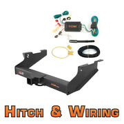 Curt Class 5 Cd Trailer Hitch And Wiring For 2003-2005 Dodge Ram 2500 / 3500