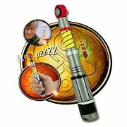 Jon Pertwee 3rd Dr Doctor Who Sonic Screwdriver - 2 Sound Effects Holographic Ca