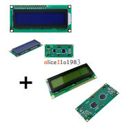1602 16x2 Character Lcd Display Module Hd44780 Controller Yellow+blue Backlight