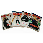 Chuck Complete Season 1-4 1 2 3 And 4 Brand New Dvd Sets