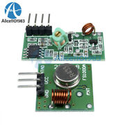 5pcs 433mhz Rf Transmitter And Receiver Link Kit For Arduino Arm Mcu