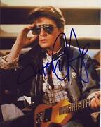 Michael J. Fox Signed Autographed 8x10 Back To The Future Marty Mcfly Photograph