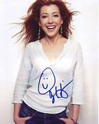 Alyson Hannigan Signed Autographed 8x10 How I Met Your Mother Lily Photograph