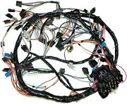 1981 Corvette Wiring Harness Dash With Automatic Transmission Us Repro C3 New