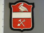 U. S. Army 376th Engineer Battalion Hand Sewn Felt Patch Brand New Never Issue