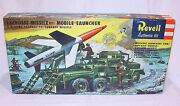 Revell 132 Us Army Gmc Lacrosse Missile Launch Truck Wwii Built Kit + Box `58
