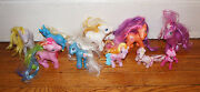 Vintage My Little Pony Lot Of 10 Mixed Ponies 3 - 5 Figures Hasbro Toy Horse