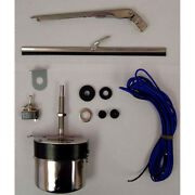 Universal Wiper Motor Kit 12v Stainless For Jeep Cj Wagon Truck 19101.03 Omix