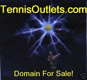 Tennis Outlets.com Domain Website Store Selling Tennis Products Balls Clothes