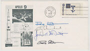 Signed James Mcdivitt Rusty Schweickart And Dave Scott 2x Apollo 9 Fdc First Day