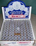 500 Koin Nickel Coin Tubes Brand New War Buffalo Indian Head Collection Storage