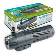 Pond Filter + Uv Steriliser Light And Fountain Pump - Aps All In One System