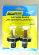 2 Pack Of 1/2 Inch Deck Livewell And Baitwell Drain Plugs For Boats 18941 New