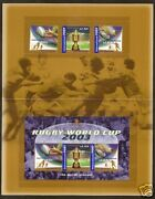 Australia 2003 Rugby World Cup Post Office Souvenir Pack With Set Of 3 And Sheet