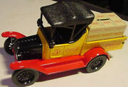 Diecast Coke Coca-cola Bottle Crate Ford Truck Bank 1918 Runabout Model T Nib