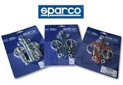 Sparco Hood Pin Silver Car Racing Race Lock Kit Pair 01606s 100 Authentic Italy
