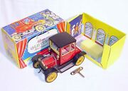Schuco Germany Ford T Coupe 1917 Oldtimer Tin Toy Wind-up Car 1227 Nmib`85 Rare