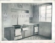 1944 Kitchen In Prefabricated Home England Press Photo
