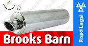 Exc101em Zx-6r Ninja 636 B1h 12 Alloy Round Slip-on Viper Exhaust Can E-mark