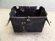 Piper Aztec Stainless Aircraft Aviation Battery Box Assy 10 X 5 3/8 X 8 3/4