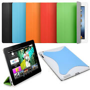 Hard Case Cover Wake/sleep Smart Cover For Ipad 2 3 4th Full Body Magnet Closure