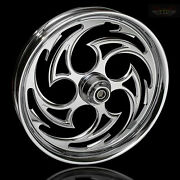 Harley Davidson 21 Inch Custom Front Wheel And Tire By Ftd Customs The Predator