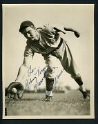 Paul Waner Signed 8x10 Photo With Full Jsa Authentication Letter Autographed