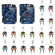 New Nfl Fox Sports Robot Cleatus Action Figure Version 2.0 Key Chain Keychain