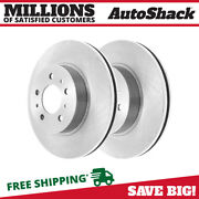 Front Disc Brake Rotors Pair 2 For Chevy Impala Limited 2006-2011 Buick Lucerne