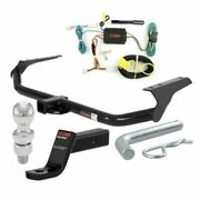 Curt Class 3 Trailer Hitch Tow Package W/ 1-7/8 Ball For 09-16 Toyota Venza