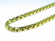 New Real 10k Yellow Gold Cable Hollow Rolo Link Chain Necklace 3 Mm 26 30 34 In