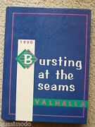 1990 Guilford High School Yearbook Rockford, Illinois  Valhalla, Unmarked