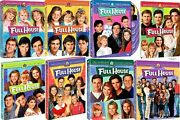 Full House Complete Series Season 1-8 1 2 3 4 5 6 7 And 8 New Dvd Set
