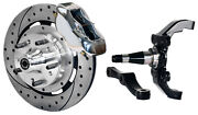 Wilwood Disc Brake Kitfrontw/wwe 2 Drop Prospindles12 Drilledpolished Cal.
