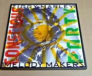 Ziggy Marley Conscious Party Signed + Framed Record Album Boband039s Son Proof