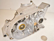 80 Kawasaki Kd80 Kd 80 Left Side Engine Motor Crankcase Crank Case