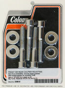 Harley 72-80 Big Twin Front Or Rear Caliper Mounting Kit Colony 2088-8