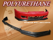 For 92-95 Civic 2dr 3dr T-ra Poly Urethane Pu Front Bumper Lip Spoiler Body Kit