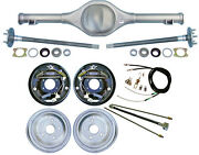 Currie 67-70 Mustang Rear End And 10 Drum Brakes,lines,parking Brake Cables,axles