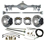 Currie 05-13 Mustang Rear End And Wilwood 12 Disc Brakes,lines,e- Cables,axles,++