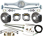 Currie 55-57 Chevy Rear End And Wilwood Disc Brakeslinese-brake Calipersaxles+