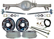 Currie 59-64 Impala Rear End And 11 Drum Brakeslinesparking Cablesaxlebel Air