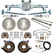 Currie 78-87 Gm G-body Rear End And Disc Brakes,lines,parking Brake Cables,axles,+