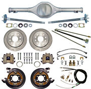 Currie 82-97 S-10 And Blazer Rear End And Disc Brakeslinesparking Cablesaxlesetc