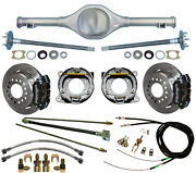Currie 82-97 S-10 And Blazer Rear End And Wilwood Disc Brakeslinese-cablesaxles+